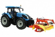 universal hobbies Landini Powermaster 220 + Fella SM 310 uh 7107 scala 1/32