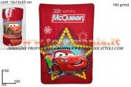 COPERTA PLAID CARS 1MTX1,50MT SAETTA MC COD 237164