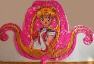 Pallone gonfiabile della Grabo personaggio Sailor Moon
