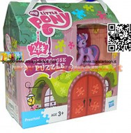 MY LITTLE PONY CASA PLAYHOUSE PUZZLE  HASBRO 36265