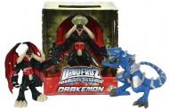 Dinofroz offerta 2 personaggi  T-Rex e Drakemon Snodabile 20 cm CCP07965