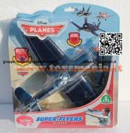 PLANES DISNEY MODELLO AEREO SUPER FLYERS SKIPPER CON LANCIATORE COD 15121