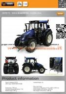 universal hobbies trattore Valtra N 103 Blu uh 4210 scala 1/32