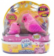 Little Live Pets Tweet Talking Owl and Baby - HEARTWING FAMILY , mamma gufetto e baby 28008