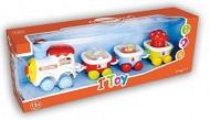 Baby Funny Train Locomotore elettrico+ 3vagoni Eff.sonori BBT0631 di Bontempi
