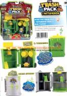 !!!! Novita' !!!! Trash Pack i Pattumeros giocattoli in offerta formata da 2 pezzi diversi serie completa formata da il Tritarifiuti e Barile Atomico cod 1709
