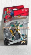 !!!! NOVITA' 2012 POWER RANGER !!!!! NUOVI POWER RANGERS Super SAMURAI personaggio verde foresta ,10 CM COD 69003