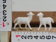 Millenium Christmas  personaggi presepe pecore 2 pezzi cod 110
