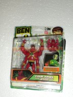 BEN TEN DUE X DUE ULTRA FOUR ARMS COD 37738