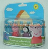 PEPPA PIG BLISTER 2 PERSONAGGI FORMATO DA PEPPA PIG E ZOE ZEBRA COD 04430