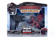 Dragons Trainer Race Of The Edge  figura SDENTATO Contro RED DEATH
