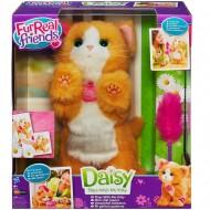Hasbro A2003E35 - Fur Real Friends, Daisy la gattina che gioca con me peluche interattivo funziona a pila