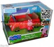 Peppa Pig Muddy Puddle Car  New macchina con fango