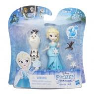 Frozen Lilltle Kingdom - mini Bambolina di Elsa e Olaf di Hasbro B5186-B5185