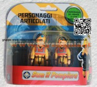 SAM IL POMPIERE BLISTER 2 PERSONAGGI SEA SAM , SEA PENNY ,  NCR 18232
