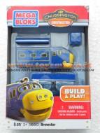 !!!! Chuggington !!!! Chuggington personaggio Bruno - personaggio da montare DITTA MEGA BLOKS COD 96600 -96603 ( confezione rovinata , ma prodotto integro )