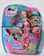 !!!! WINX !!!! WINX OCEAN, CAPELLI LUNGHISSIMI E GLITTER, INCLUSO UN LIBRO INTERATTIVO, FLORA   WINX MAGIC OCEAN DVD CCP 13127