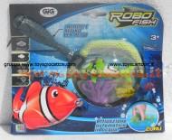 !!! GIG !!! ROBOT FISH DELUX (1 ROBOT FISH + RETINO + 2 CORALLI) COD NCR 02190