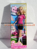 BARBIE CALCIATRICE DI MATTEL - BARBIE CAREER DOLLS MBFP99