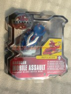 NOVITA' BAKUGAN MACCHINE DA  ASSALTO MOBILE ASSAULT BAKUGAN DELUXE BATTLE GEAR MODELLO RAPILATOR BLUE  COD 12518