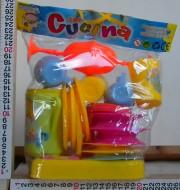 Roial collection set Cucina circa 25 pz formato da piatti ,tegami , bicchieri , posate, ecc accessori per la cucina giocattolo