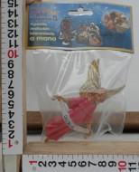 Millenium Christmas  personaggi presepe Angelo (rosa) cod 43