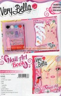 VERY BELLA DI GIOCHI PREZIOSI ! NAIL ART BOOK ( ALBUM PER DECORARE LE UNGHIE) COD.15036