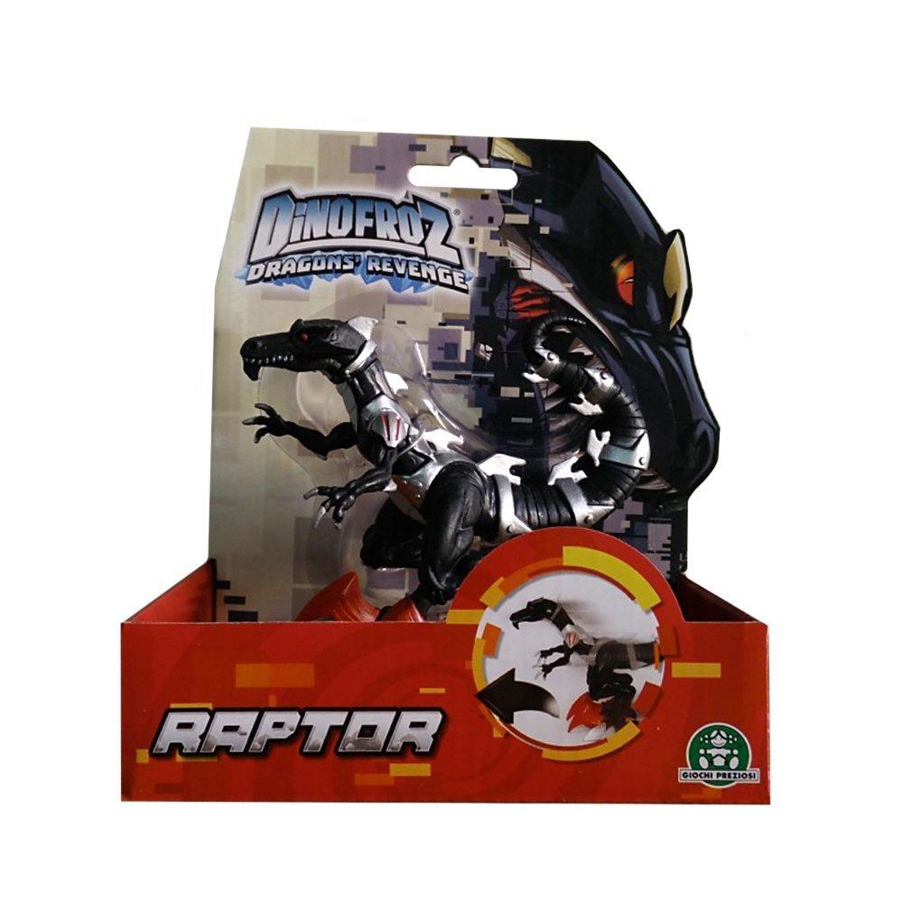 b25eb9642b Dinofroz Dinosuaro Raptor con Funzione Speciale, Alto 10 cm di Giochi  Preziosi GPZ07964