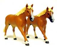 set cavalli in scala1/32 della siku cod 2491