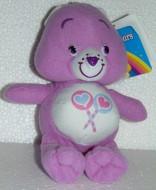 Generorsa 20cm orsetta Orso Lilla Lecca Peluche Gli orsetti del cuore Care Bears
