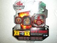 !!!nuovissimi !!!!!Bakugan - Super Assault ,bakugan gundalian invaders modello super assault bakucyclone rosso cod 12508