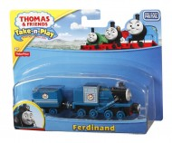 FISHER PRICE Thomas Friends Take Play V.Grande  Ferdinand R8852- T0247