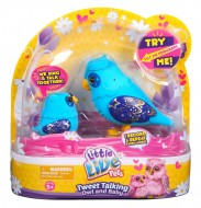 Little Live Pets S2 Tweet Talking Owl and Baby Nightstar Family , mamma gufetto e baby 28008