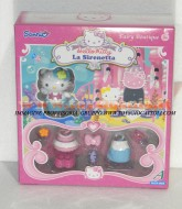 !!!! HELLO KITTY !!! FAIRY BOUTIQUE ,PERSONAGGI CON VESTITI E ACCESSORI MODELLO HELLO KITTY LA SIRENETTA COD 86213
