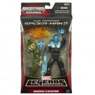 Spiderman 15 cm Marvel Legends Infinite Series, Electro A6657-A6655 di Hasbro