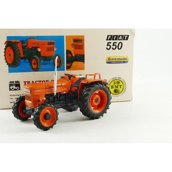 trattore tractor tracteur fiat 550 4x4 hmt2015 re133 replicagri 1 32 toys mania giocattoli. Black Bedroom Furniture Sets. Home Design Ideas
