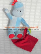 LA FORESTA DEI SOGNI , IN THE NIGHT GARDEN PELUCHE CIRCA 33 CM PERSONAGGIO IGGLE , Igglepiggle ORIGINALE UFFICIALE CARTONE ANIMATO GIOCATTOLI PELUCHE toys , BRINQUEDOS ,JUGUETES , JOUETS , giocattoli COD F.F.30