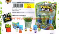 PATTUMEROS THE TRASH PACK I PATTUMEROS BLISTER CON SLIME NCR 68080