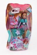 Winx Fairy School Bambola Aisha con bracciale per bambina di Giochi Preziosi CCP91400