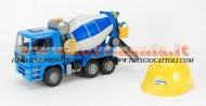 !!!! BRUDER STOP !!!! Bruder giocattoli Camion MAN TGA betoniera + elmetto da cantiere bruder [ cod 02744 + 10200 ]
