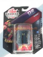 TOYS !!!!NUOVISSIMI!!!! BAKUGAN GIOCATTOLI BAKUGAN D2 PERSONAGGIO BAKUDOUBLE - STRIKE DARTAAK   NERO BAKUBOOST COD 12510