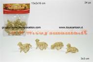 PERSONAGGI PRESEPE ANIMALI PECORA CM 3X3 OFFERTA 24 PEZZI 1 BUSTA 8033113052972