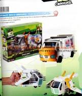 !!! Novità Ben Ten natale 2012 !!!! Ben Ten , Ben 10 Omniverse Pulmino trasformabile modello Omniverse Proto Craft toys , BRINQUEDOS ,JUGUETES , JOUETS , giocattolo, cod 36625