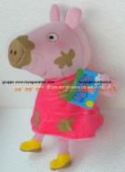 PELUCHE PEPPA PIG MACCHIATA DI FANGO CM 33 CIRCA