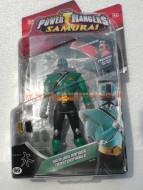 !!!!!POWER RANGERS!!!!!NOVITA' DELLA GIG POWER RANGERS SAMURAI , SAMURAI RANGERS TRASFORMABILI PERSONAGGIO Mike Green samurai Ranger PERSONAGGIO DELLA FORESTA   COD 31520