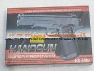 Pistola sotf air modello GSR HX 698A pistola giocattolo