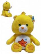 Superstar Orsa 24/30cm Soffice Peluche Gli orsetti del cuore Care Bears Giallo stella Rosso Orso
