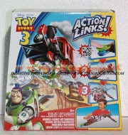 GIOCATTOLO DISNEY TOY STORY 3 ACTION LINKS BUZZ SAVES THE TRAIN STUNT SET