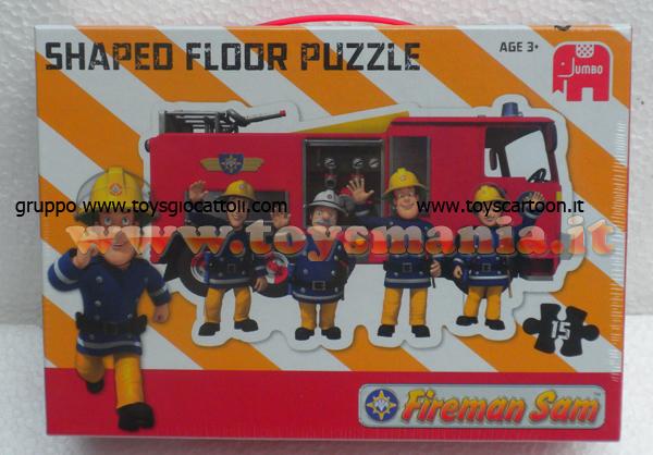 Elicottero Sam Il Pompiere : Sam il pompiere puzzle da pavimento fireman