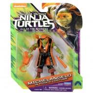 Tartarughe Ninja Movie– Fuori Dall'Ombra – Michelangelo in costume da piarata 12 Cm TUV71000
